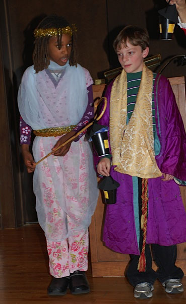 Two Kids in Costume